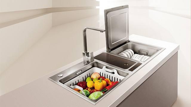 廚房水槽自動打膠機