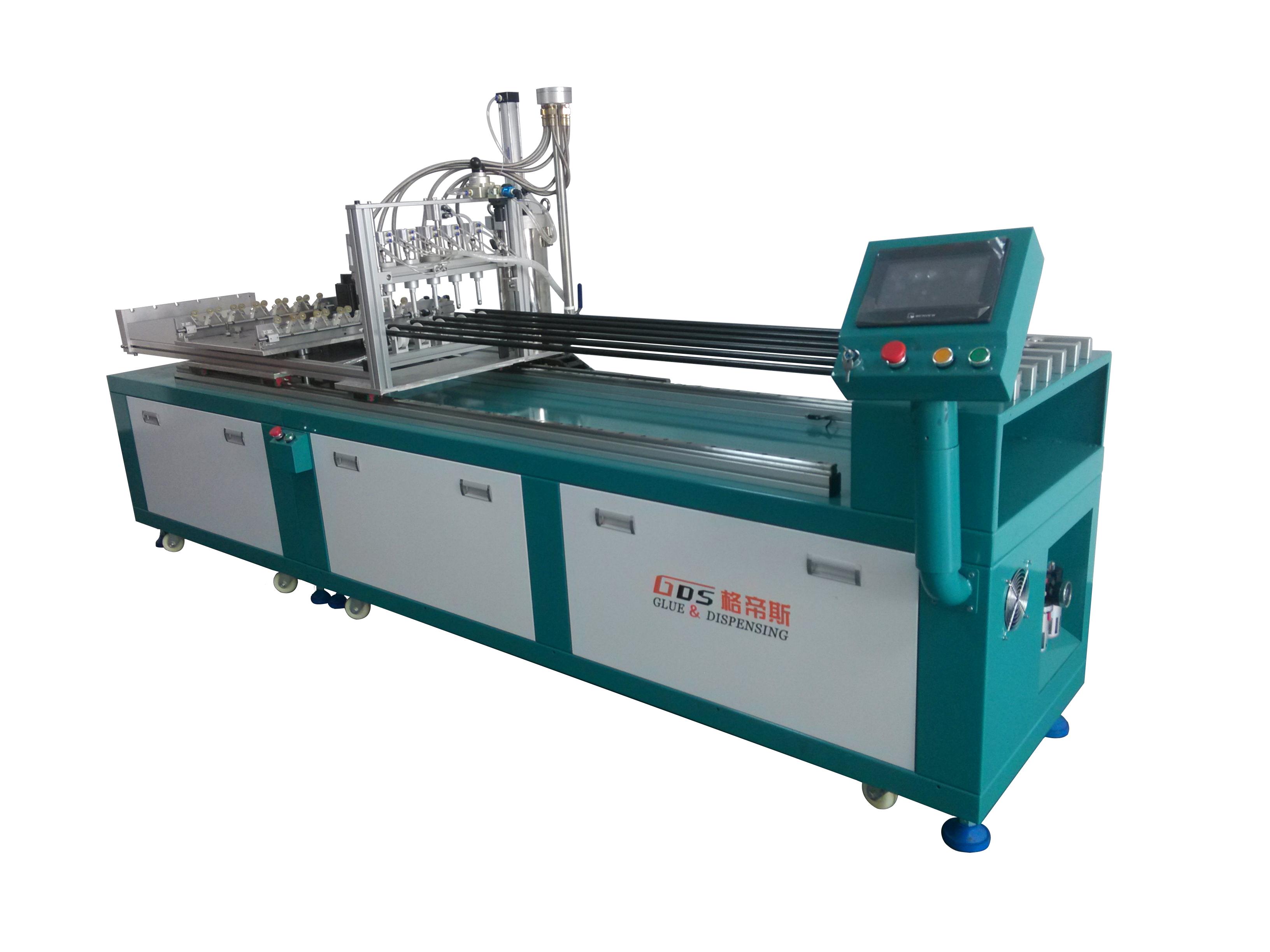TD-1206 T8/T5 Glass Tube Glue Dispensing Machine