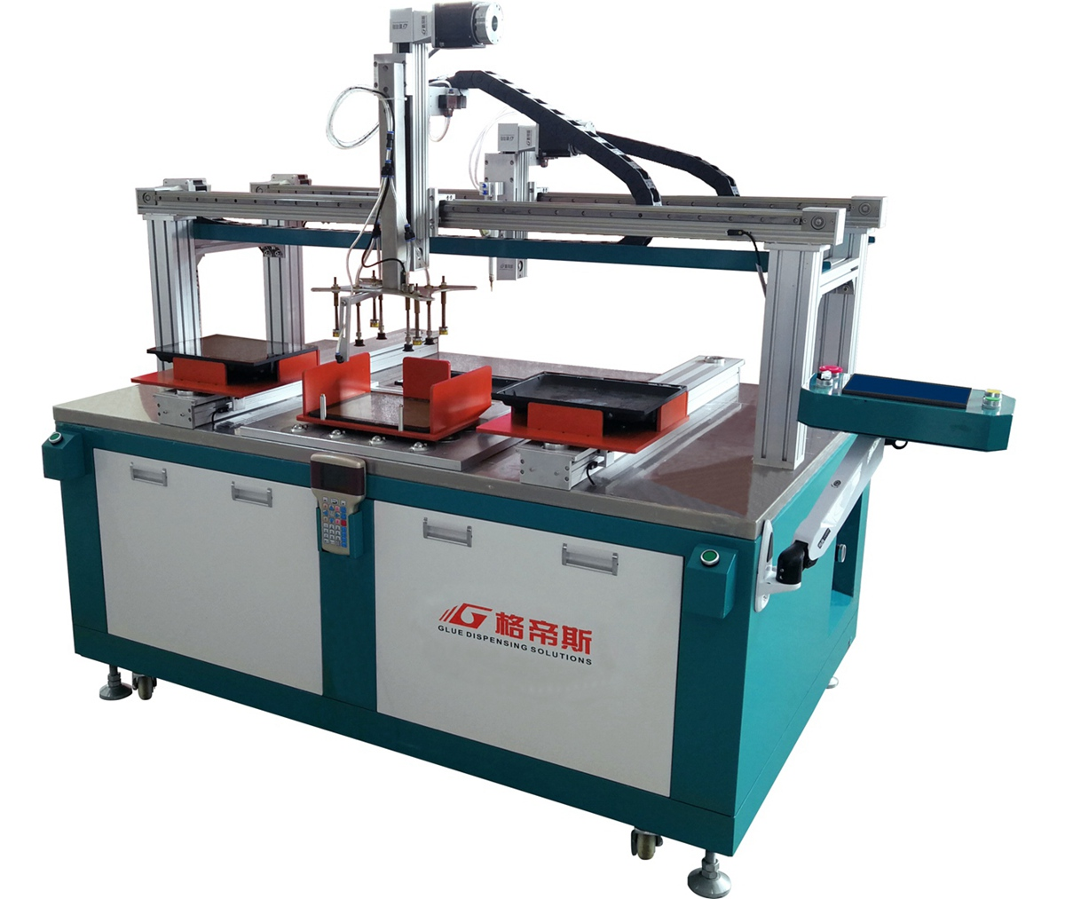 TDT-400 Automatic Flood Light Glass Cover Sealing Machine