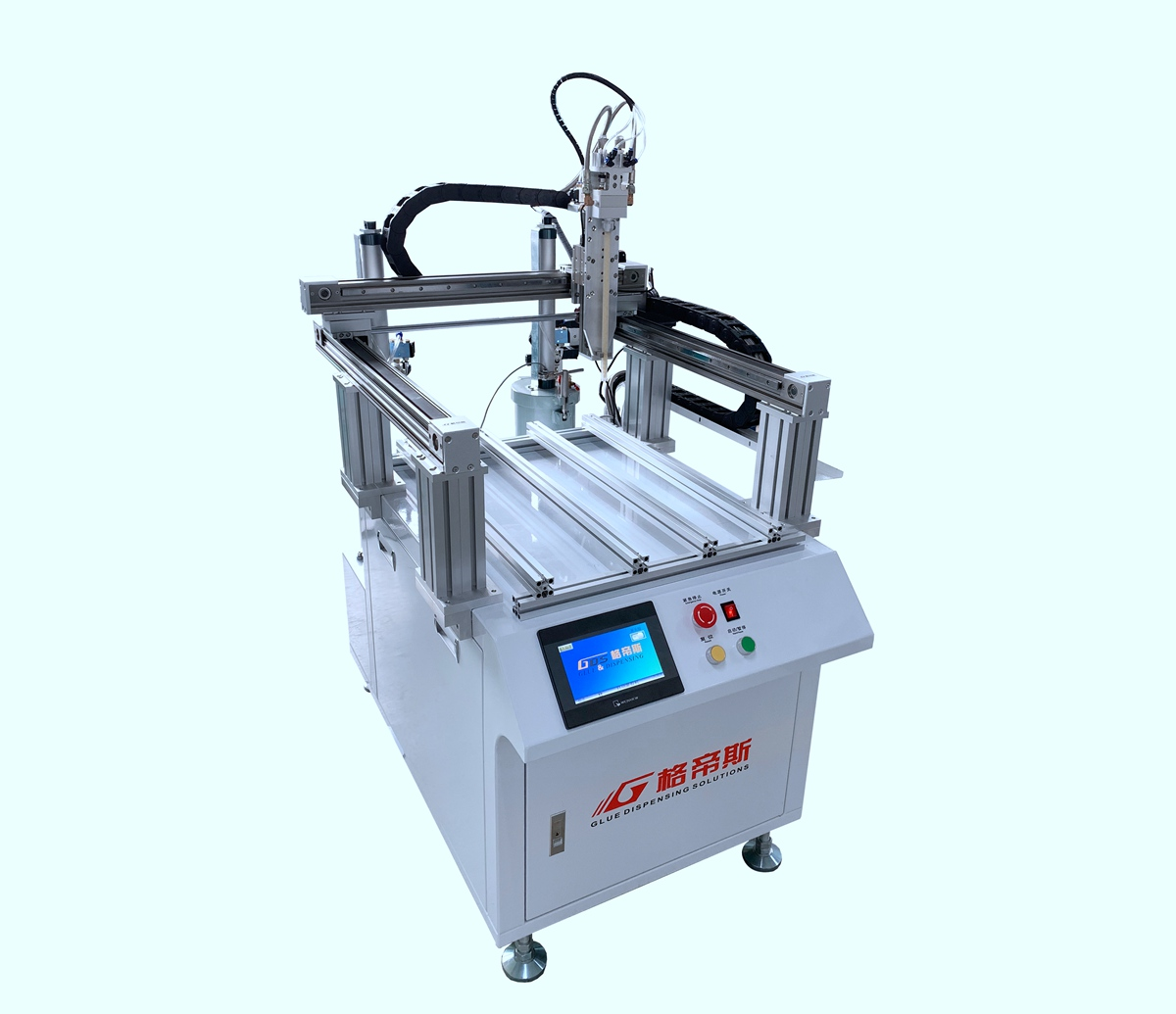 MG-2600 Full Automatic AB Glue Mixing & Dispensing Machine