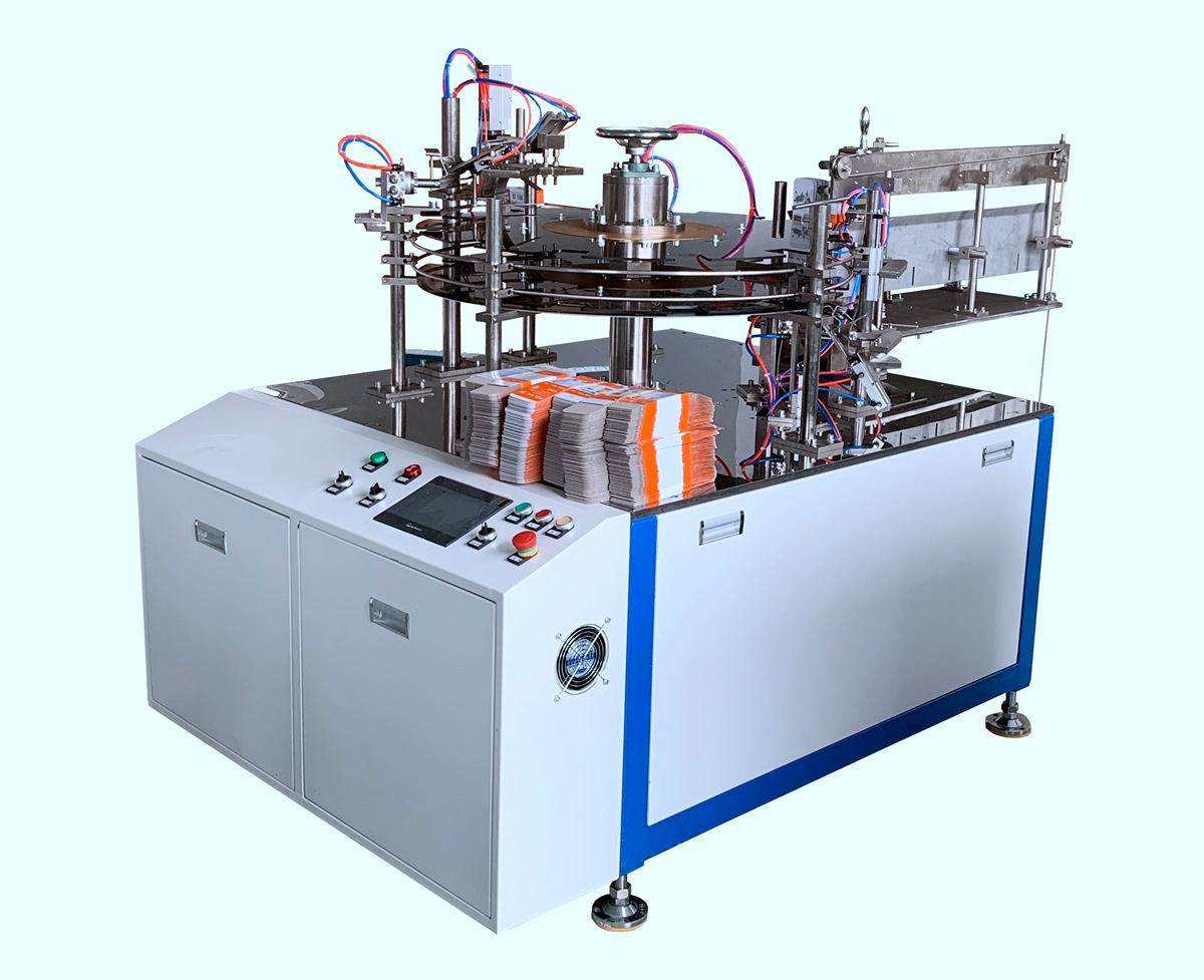 VPM-12Upright Carton Automatic Packing Machine