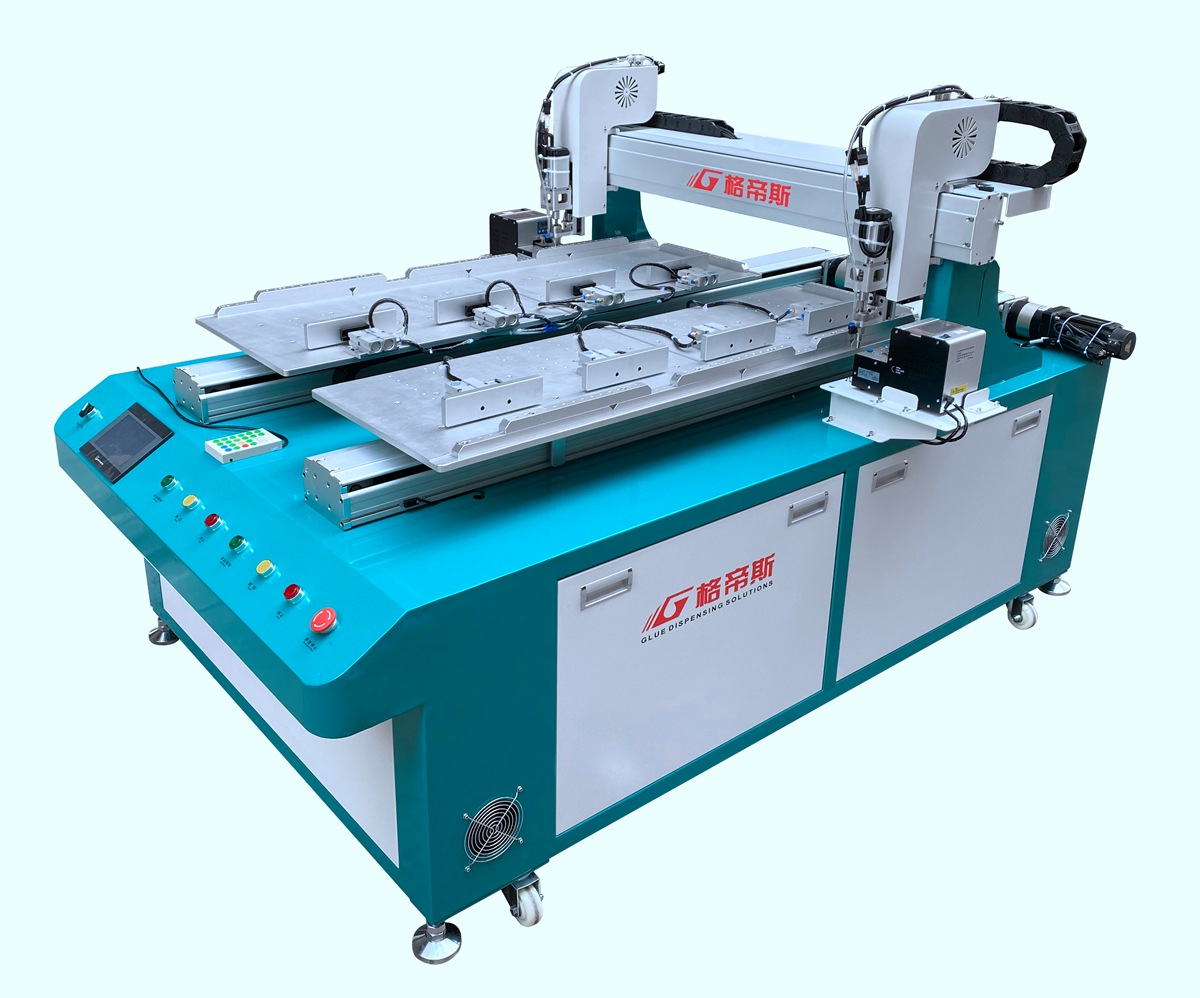 1.2M Double Work Station Screw Locking Machine